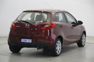 2012 Mazda 2 DE10Y2 MY13 Neo Red 4 Speed Automatic Hatchback