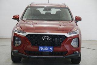 2019 Hyundai Santa Fe TM MY19 Active Horizon Red 8 Speed Sports Automatic Wagon.