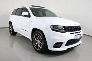 2017 Jeep Grand Cherokee WK MY17 SRT (4x4) White 8 Speed Automatic Wagon.