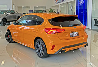 2020 Ford Focus SA 2021MY ST Orange Fury 7 Speed Automatic Hatchback.