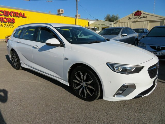 Used Holden Commodore ZB RS Morphett Vale, 2017 Holden Commodore ZB RS White 9 Speed Automatic Sportswagon