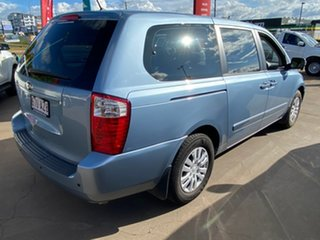 2013 Kia Grand Carnival VQ MY14 S Blue 6 Speed Automatic Wagon.