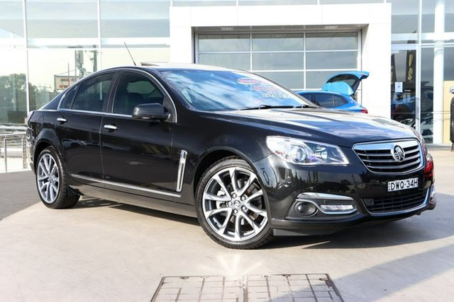 Used Holden Calais VF II MY16 V Liverpool, 2016 Holden Calais VF II MY16 V Black 6 Speed Sports Automatic Sedan