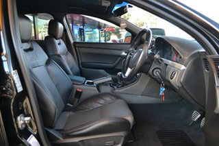 2011 Holden Commodore VE II MY12 SS V Redline Black 6 Speed Manual Sedan.