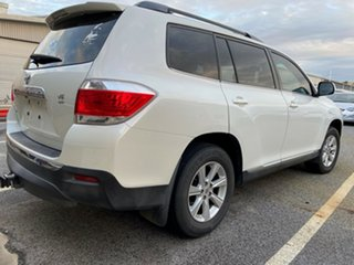 2011 Toyota Kluger GSU40R MY11 KX-R 2WD White 5 Speed Sports Automatic Wagon