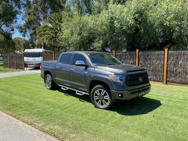 Used Toyota Tundra Platinum South Melbourne, 2018 Toyota Tundra (No Series) Platinum Grey Automatic Utility