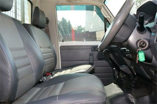 2010 Toyota Landcruiser VDJ79R MY10 Workmate White 5 Speed Manual Cab Chassis