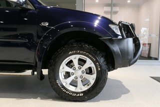 2015 Mitsubishi Triton MN MY15 GLX-R Double Cab Blue 5 Speed Sports Automatic Utility