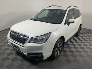 2016 Subaru Forester S4 MY16 2.0D-L CVT AWD White 7 Speed Constant Variable Wagon.