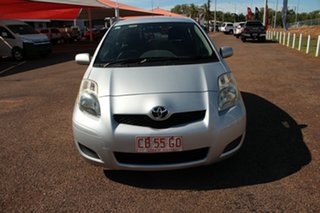 2009 Toyota Yaris NCP90R MY10 YR Quicksilver 4 Speed Automatic Hatchback.