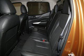 2018 Nissan Navara D23 S3 ST-X Orange 7 Speed Sports Automatic Utility