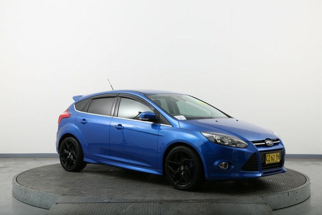 Used Ford Focus LW MkII Sport PwrShift Homebush, 2014 Ford Focus LW MkII Sport PwrShift Blue 6 Speed Sports Automatic Dual Clutch Hatchback
