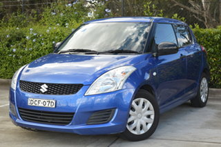 2011 Suzuki Swift FZ GA Blue 4 Speed Automatic Hatchback.