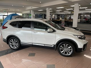 2021 Honda CR-V RW MY21 VTi 4WD LX AWD Platinum White 1 Speed Constant Variable Wagon.