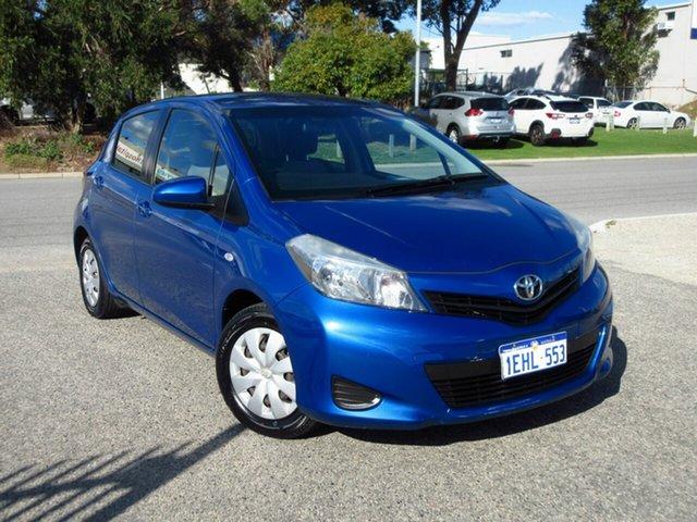 Used Toyota Yaris NCP130R YR Wangara, 2013 Toyota Yaris NCP130R YR Blue 4 Speed Automatic Hatchback