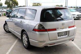 2008 Honda Odyssey 3rd Gen MY07 Silver 5 Speed Sports Automatic Wagon.