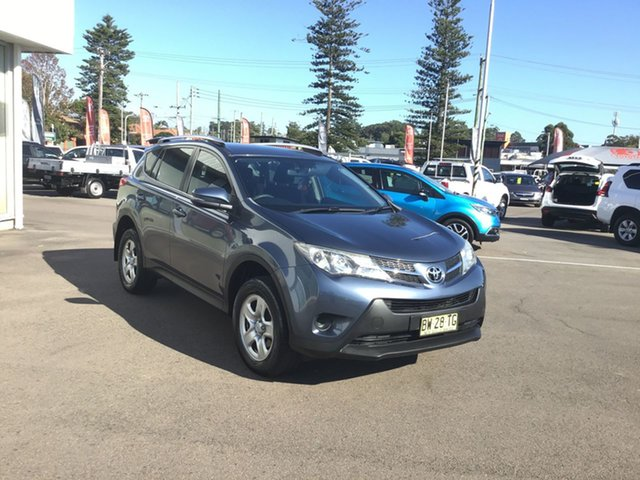 Used Toyota RAV4 ZSA42R GX 2WD Cardiff, 2013 Toyota RAV4 ZSA42R GX 2WD Blue 7 Speed Constant Variable Wagon