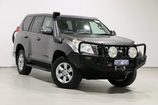 2013 Toyota Landcruiser Prado KDJ150R 11 Upgrade GXL (4x4) Grey 5 Speed Sequential Auto Wagon.