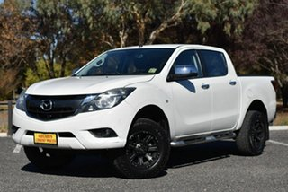 2016 Mazda BT-50 UR0YF1 XTR 4x2 Hi-Rider White 6 Speed Manual Utility.
