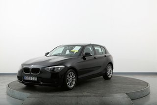 2013 BMW 116i F20 116i Black 8 Speed Sports Automatic Hatchback