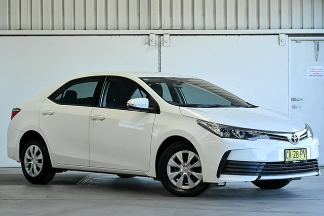 Used Toyota Corolla ZRE172R Ascent S-CVT Laverton North, 2016 Toyota Corolla ZRE172R Ascent S-CVT White 7 Speed Constant Variable Sedan