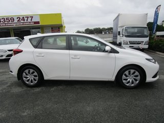 2015 Toyota Corolla ZRE182R Ascent S-CVT White 7 Speed Constant Variable Hatchback