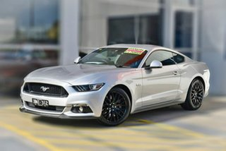 2016 Ford Mustang FM GT Fastback Silver 6 Speed Manual Fastback.