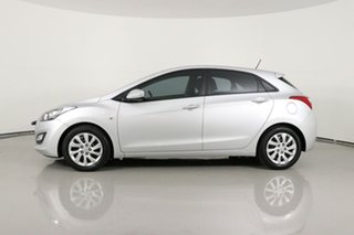2013 Hyundai i30 GD Active Silver 6 Speed Manual Hatchback