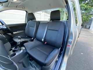 2018 Mazda BT-50 UR0YE1 XT 4x2 Silver 6 Speed Manual Cab Chassis