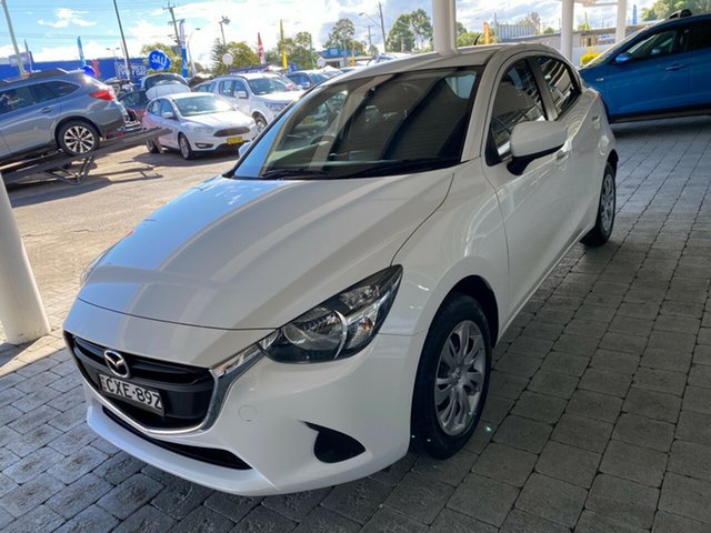 Used Mazda 2 DJ Neo Taree, 2014 Mazda 2 DJ Neo White 6 Speed Manual Hatchback