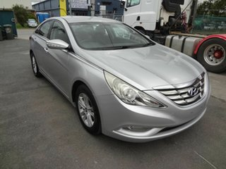 2012 Hyundai i45 YF MY11 Active Silver 6 Speed Automatic Sedan.