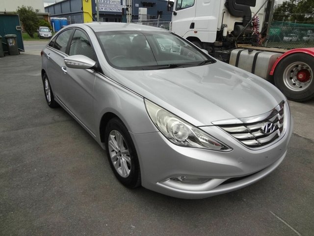 Used Hyundai i45 YF MY11 Active Coopers Plains, 2012 Hyundai i45 YF MY11 Active Silver 6 Speed Automatic Sedan