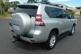 2013 Toyota Landcruiser Prado KDJ150R MY14 GXL Silver 5 Speed Sports Automatic Wagon.