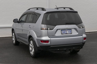 2011 Mitsubishi Outlander ZH MY11 XLS Silver 6 Speed Constant Variable Wagon