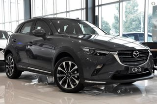 2021 Mazda CX-3 DK2W7A sTouring SKYACTIV-Drive FWD Grey 6 Speed Sports Automatic Wagon.