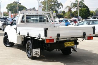 2020 Toyota Hilux TGN121R Workmate 4x2 Glacier White 6 Speed Automatic Cab Chassis.