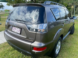 2011 Mitsubishi Outlander ZH MY12 Platinum Brown 6 Speed Constant Variable Wagon