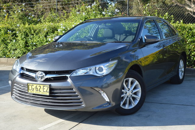 Used Toyota Camry ASV50R Altise Maitland, 2016 Toyota Camry ASV50R Altise Grey 6 Speed Sports Automatic Sedan