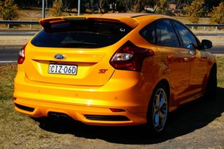 2012 Ford Focus LW MkII ST Yellow 6 Speed Manual Hatchback