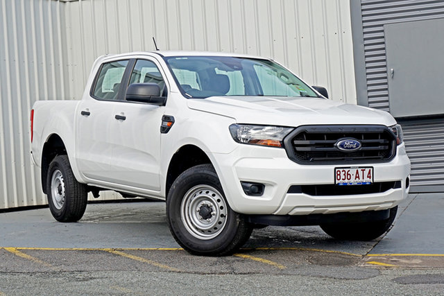 Used Ford Ranger PX MkIII 2021.25MY XL Springwood, 2020 Ford Ranger PX MkIII 2021.25MY XL White 6 Speed Sports Automatic Double Cab Pick Up