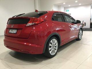 2013 Honda Civic 9th Gen MY13 VTi-LN Milano Red 5 Speed Sports Automatic Hatchback.