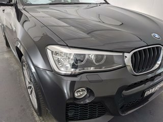 2017 BMW X4 F26 xDrive20i Coupe Steptronic Black 8 Speed Automatic Wagon.