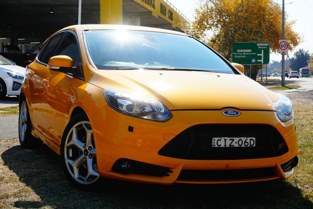 Used Ford Focus LW MkII ST Phillip, 2012 Ford Focus LW MkII ST Yellow 6 Speed Manual Hatchback