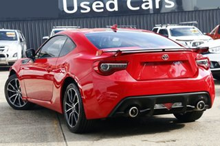 2018 Toyota 86 ZN6 GTS Red 6 Speed Sports Automatic Coupe.