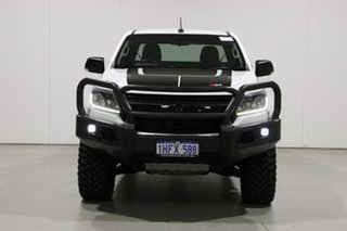 2017 Holden Colorado RG MY17 LS (4x4) White 6 Speed Automatic Space Cab Chassis.