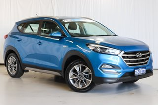 2017 Hyundai Tucson TL MY18 Active X 2WD Blue 6 Speed Sports Automatic Wagon.