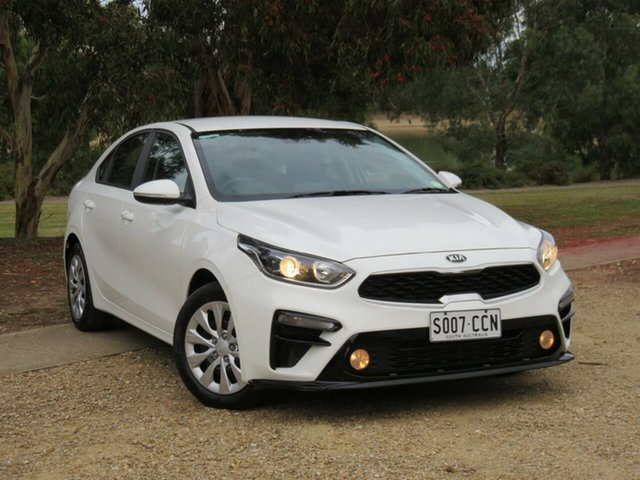 Used Kia Cerato BD MY20 S Morphett Vale, 2019 Kia Cerato BD MY20 S White 6 Speed Sports Automatic Sedan