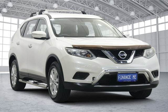 Used Nissan X-Trail T32 ST X-tronic 4WD N-TREK Victoria Park, 2015 Nissan X-Trail T32 ST X-tronic 4WD N-TREK White 7 Speed Constant Variable Wagon