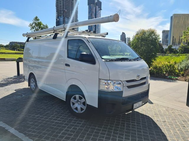 Used Toyota HiAce KDH201R LWB South Melbourne, 2015 Toyota HiAce KDH201R LWB White 4 Speed Automatic Van