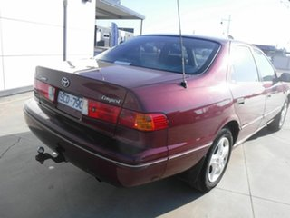 2001 Toyota Camry MCV20R Conquest Maroon 4 Speed Automatic Sedan.